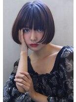 【Blanc/茶屋町】暖色系カラー/艶カラー/ボブerk177