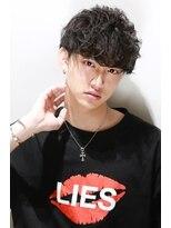 リップスヘアー 銀座(LIPPS hair)菅田将暉風ハイカールパーマ