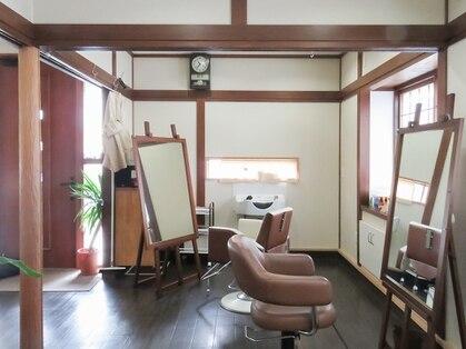美容室 糸の写真