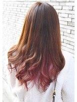 ヘアーデザイン キャンパス(hair design Campus)【カラートリートメントで髪遊び☆】インナーミルキーピンク♪