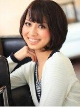 トマーテ ヘアデザイン(TOMATE Hair Design)小顔&目ヂカラアップの優秀ショートボブ