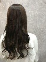 セブン ヘア ワークス(Seven Hair Works)[セブンヘア] イルミナカラー巻き髪スマイル