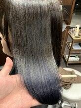 髪の美院 シャルマン ビューティー クリニック(Charmant Beauty Clinic)ブルーグレージュ