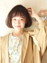 ソース 梅田(SOURCE)【Source】オン眉ボブ
