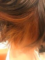 ヘアーサロン リアン 熊谷2号店(hair salon Rien)インナーオレンジ