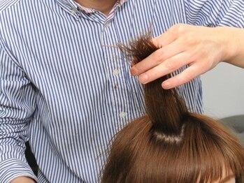 エト([,et])の写真/豊富な薬剤を取り揃え、自然な柔らかいストレートヘアに♪繰り返しの縮毛矯正もダメージを気にせずトライ!