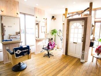 美容室 チッタ(citta)の写真/2席×2名のスタイリストのみの居心地の良い空間でずっと通いたくなるサロン♪大型店が苦手な方におすすめ◎