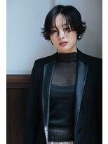 マウロア(MAULOA)【MAULOA】アンニュイショート×大人style 黒髪ショート