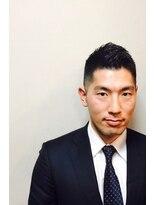 ビジネスショート<銀座><理容室><有楽町><高級>