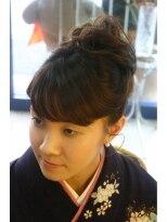 ボーチェ(beauche)落ち着いた中にハッと魅せる大和なでしこ☆日本髪と着付け
