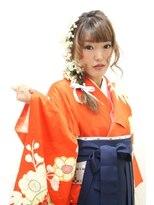 袴で卒業式♪