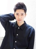 【ヘアジュレドゥ 花井】 黒髪男子!メンズベリーショート