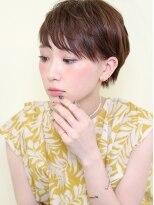 オーガニックサロン フェイス 梅田店(organic salon face)ショートスタイルを楽しむ小顔なショート