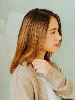 キュレア(C..ure.are)の写真/ご自宅でもお手入れしやすいヘアスタイルのご提案と美髪になれるヘアケアをアドバイス!