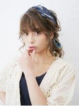 アース 四ツ谷店(HAIR&MAKE EARTH)華やかでかわいい!スカーフアレンジ