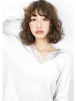 ヘアサロン ガリカ 表参道(hair salon Gallica)『 グレージュ × ウェーブ 』ジェンダーレス小顔ボブ☆