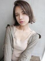アンジェリカ ハラジュク(Angelica harajuku)外国人風グレージュカラーボブ