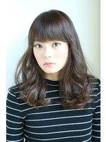 ギフト ヘアー サロン(gift hair salon)ラフにゆれるセミロングウェーブ   (熊本・通町筋・上通り)