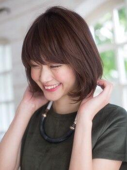 エントランスオブヘアー(ENTRANCE OF HAIR)の写真/カットだけではなく、丁寧なアドバイスと高い技術力で、あなたのなりたいを叶える♪