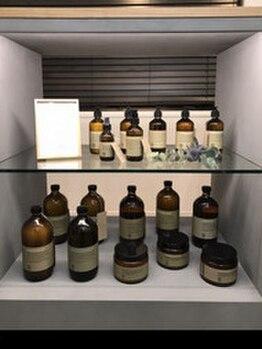 ヘアーコレクトニコ(hair collect nico)の写真/こだわりの≪Rolland‐ローランド-≫取り扱い◎お肌が敏感な方も安心。ナチュラルな素材でしっかりケアを…