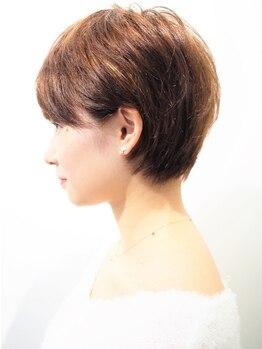 カミーノ ヘアデザイン(Camino Hair Design)の写真/【ショートのorder殺到】技術×デザインにこだわり、ベテランstylistによる計算し尽くされた黄金バランス◎