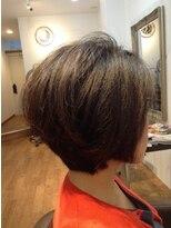 ヘア ルシェ(hair ruscha)【ヘアルシェ】大人30、40代おすすめ♪前下がりショート♪