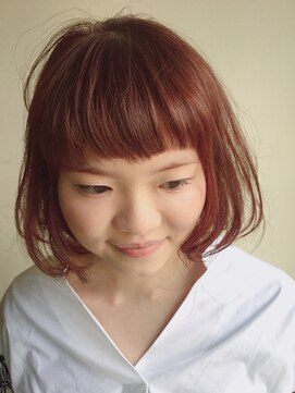 クブヘアー(kubu hair)ショートバング似合わせボブ