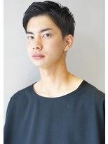 ヘアサロンガリカアオヤマ(hair salon Gallica aoyama)外国人風 ☆ アップバング × ショートセミウエット。