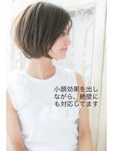 モッズ ヘア 福岡姪浜店(mod's hair)大人かわいい前下がりショートボブ