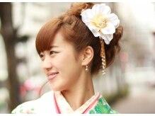 アトリエパルファン(Atelier Parfum)の雰囲気(卒業式のヘアセット・着付け☆お気軽にご予約下さい。)