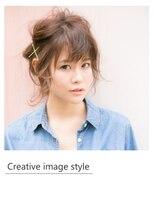 ヴェローグ シェ ブー(belog chez vous hair luxe)【Creative image styel】ルーズおくれ毛が可愛いゆるアレンジ