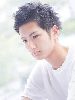 サクラヘアー(SAKURA HAIR)の写真/【Men's人気No.1★カット+眉カット+Relaxケアマッサージ¥4000】期待以上の仕上がりを通いやすい価格で◎