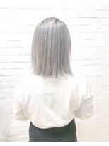 ヘアサロン エフ(HairSalon F)シルバーグレー