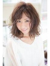 ヘアーブランド リンク 小束山店(HAIR BRAND Link)【Link 小束山店】ふんわりナチュラルパーマ