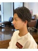 アイリーヘアデザイン(IRIE HAIR DESIGN)【IRIE HAIR赤坂】学割U24×スパイラルパーマ×ツーブロック