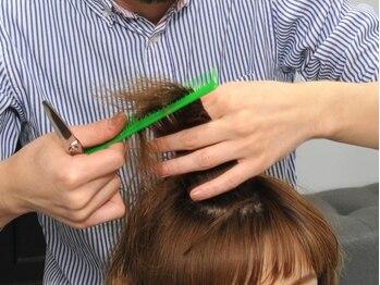 エト([,et])の写真/理想のヘアを的確に把握!誤魔化しが効かないからこそ髪質・顔バランスに合わせ、細部にまで拘ってカット