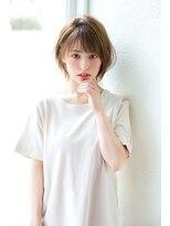 アンアミ オモテサンドウ(Un ami omotesando)【Un ami】 松井幸裕 シースルーショートボブ