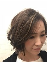 サンディーズ(SUNDYS)切りっぱなしボブ 前髪なし ナチュラルボブ伸ばしかけボブ