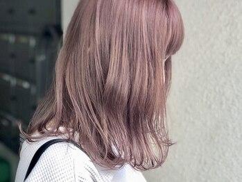 ヘアーズルネッタアベノ(HAIR'S Lunetta abeno)の写真/《オーダーメイド潤いカラー+似合わせカット¥6480》ダメージレスカラーやWカラーなどなりたいstyleが叶う☆