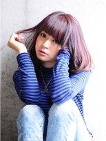 フラ ヘア(Hula hair)【Hulahair】フェミニンカールボブ