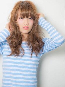 エデン(EDeN)の写真/≪オーガニックカラー+カット¥6980≫とにかくカラーが上手い♪グラデ、外国人風、バレイヤージュも人気!!