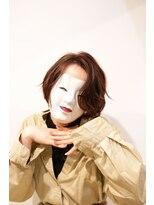 コマ(coma)【coma中野】前髪長めの色気エッジショートくびれセミディ