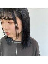 ヘアーアイストゥーレ(HAIR ICI TRE)ラインボブ 顔周りレイヤー