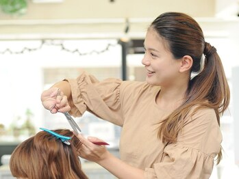ヘアーメイク アドックス(HAIR MAKE ADOX)の写真/お客様の要望と髪質やプロポーションバランスに合わせスタイルをご提案!今よりもっとステキなスタイルへ♪