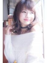 ロンド フィーユ(Lond fille)【Lond fille】シースルーバングで動きのある大人可愛いヘア