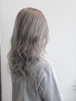 ヘアー リラクゼーション アンヴィ(Hair Relaxation anvi)の写真/あなただけのカラー提案がgood◎edolカラーで最高の透明感と艶を♪