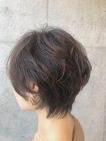 後頭部ふんわり無造作パーマ☆40代髪型