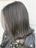◆control color×SMOKY GREGE×4step-treatment【head massage】15630→9800