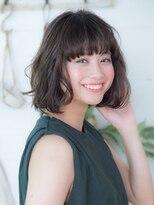 オーブ ヘアー アクネ 長岡京店(AUBE HAIR acne)グレージュ☆ゆるふわウェーブ