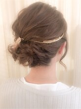 ヘアセットアンドメイクアップ シュシュ(Hair set&Make up chouchou)【L&c collection2】ボブレングスでも☆カールアップ